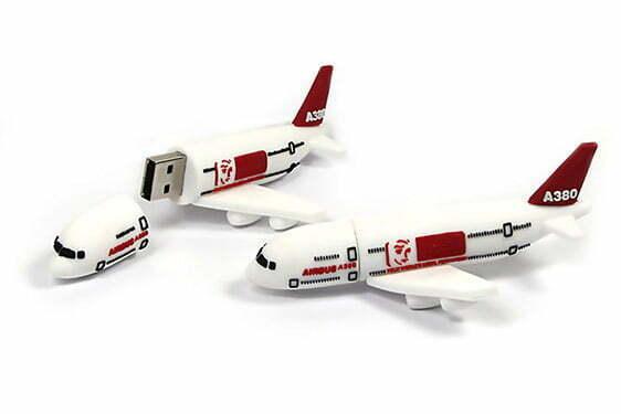 Clé USB avion de ligne Boeing Airbus