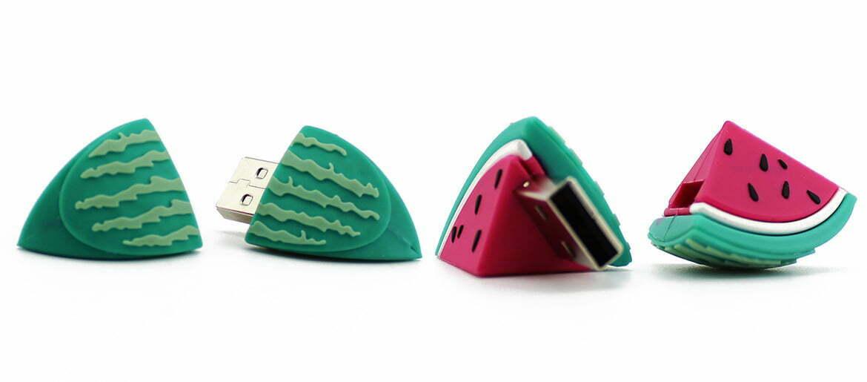Clé USB Pastèque impression logo