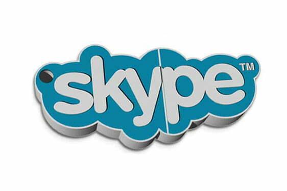 Clé USB Logo USB Skype