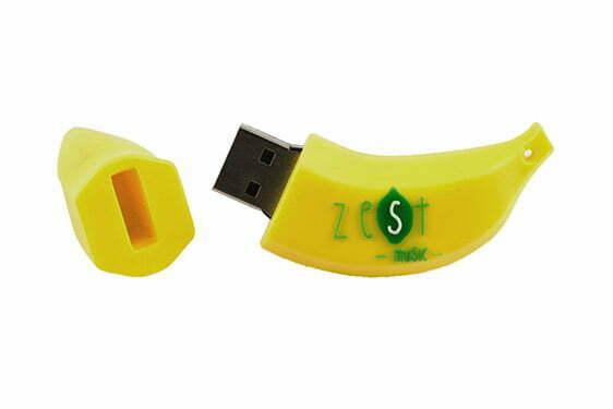 Clé USB Banane sur mesure