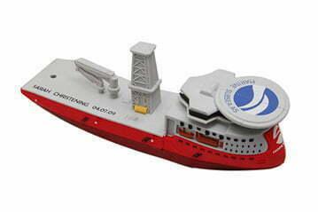 Clé USB bateau plate forme pétrolière