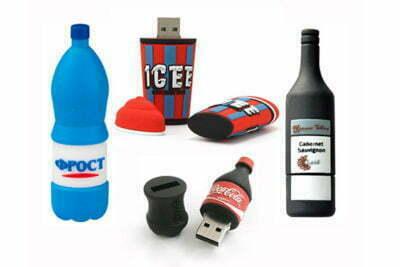 Clé USB bouteille