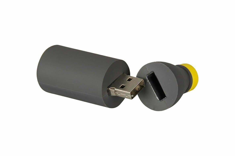 moule création originale gourde clé USB sur mesure